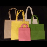 Cotton Bags - 5oz Loop Handles - Clearance Price for larger quantities
