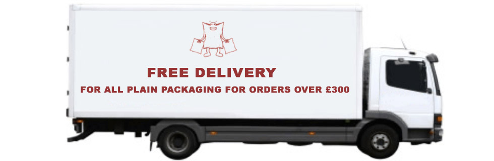 Free delivery on orders over 300 pounds