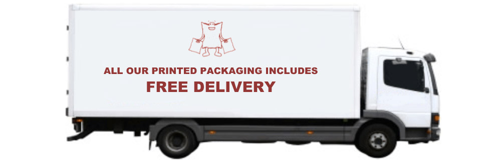 Free Delivery on Printed Packaging