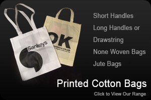 Printed Cotton and Non Woven Bags